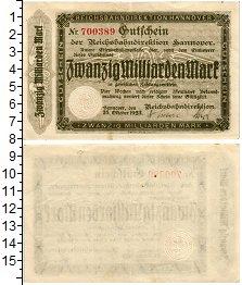 Изображение Банкноты Веймарская республика 20000000000 марок 1923  XF