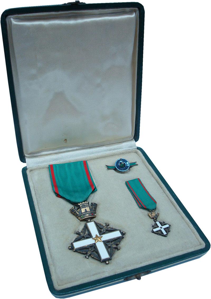 Изображение Значки, ордена, медали Италия Орден 0 Серебро UNC