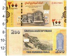 Изображение Банкноты Азия Йемен 200 риалов 2018  UNC