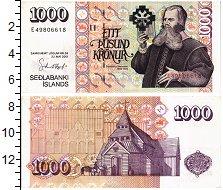 Изображение Банкноты Исландия 1000 крон 2001  UNC-