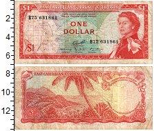 Изображение Банкноты Карибы 1 доллар 1965  VF