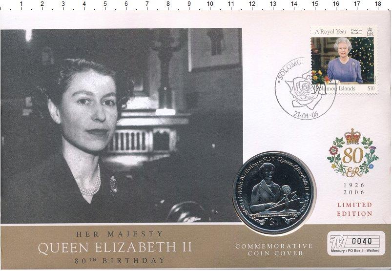 Изображение Подарочные монеты Сьерра-Леоне 1 доллар 2006 Медно-никель UNC