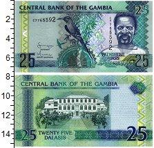 Изображение Банкноты Гамбия 25 даласи 2016  UNC