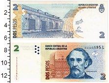 Изображение Банкноты Аргентина 2 песо 0  UNC
