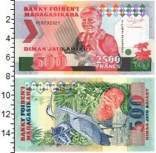 Изображение Банкноты Мадагаскар 500 ариари 0  UNC