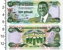 Изображение Банкноты Багамские острова 1 доллар 2001  UNC