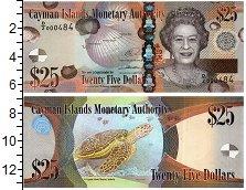 Изображение Банкноты Каймановы острова 25 долларов 2014  UNC