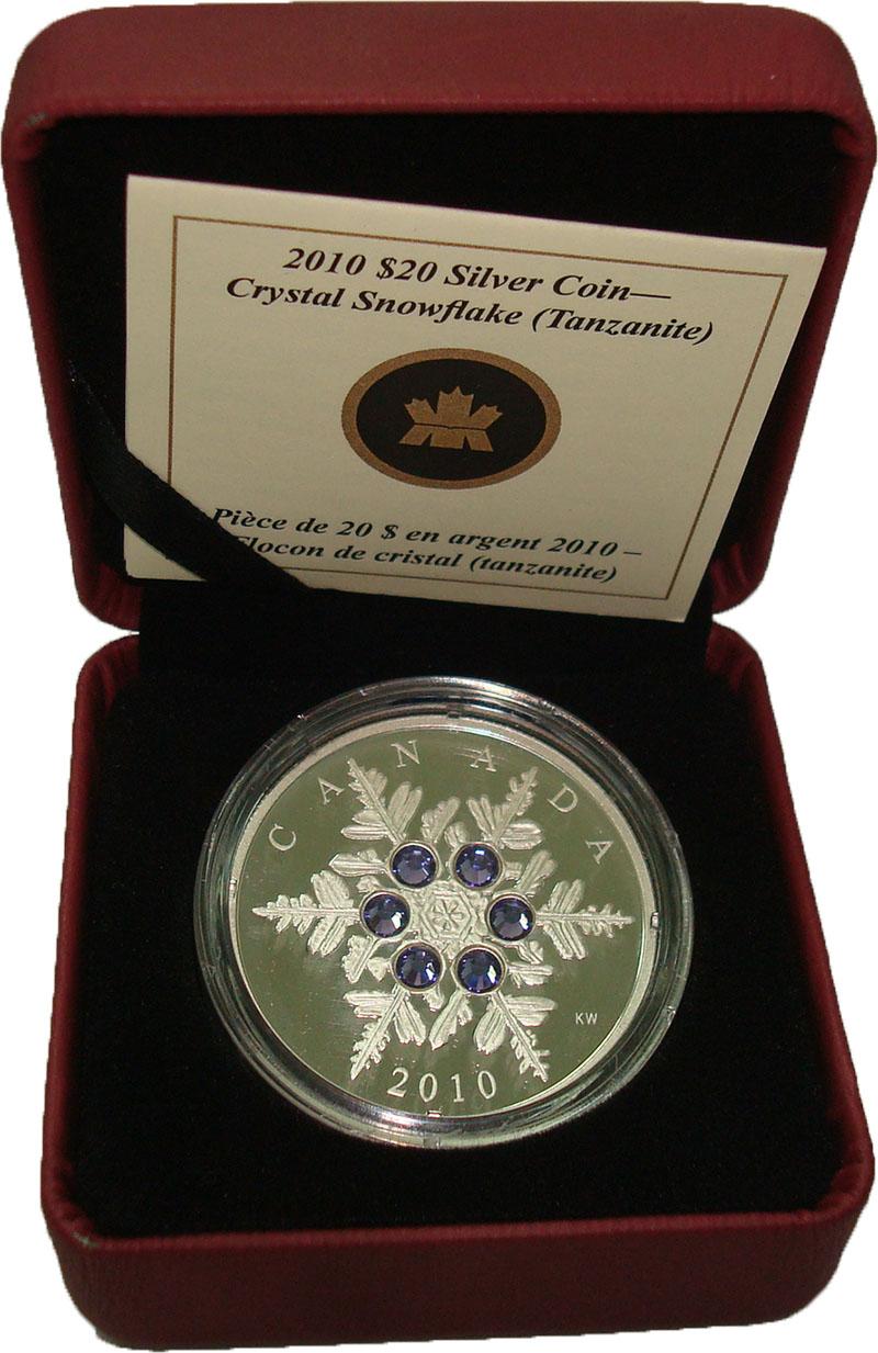 Изображение Подарочные монеты Северная Америка Канада 20 долларов 2010 Серебро Proof