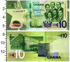 Изображение Банкноты Гана 10 седи 2019  UNC