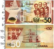 Изображение Банкноты Гана 50 седи 2019  UNC