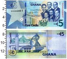Изображение Банкноты Гана 5 седи 2019  UNC