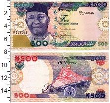 Изображение Банкноты Нигерия 500 найр 2017  UNC