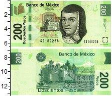 Изображение Банкноты Мексика 200 песо 2015  UNC