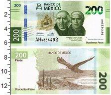 Изображение Банкноты Мексика 200 песо 2018  UNC