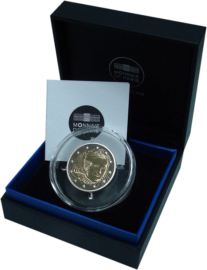 Изображение Подарочные монеты Франция 2 евро 2018 Биметалл Proof