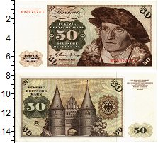 Изображение Банкноты ФРГ 50 марок 1970  UNC