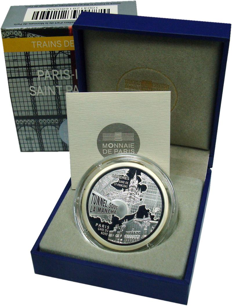Изображение Подарочные монеты Европа Франция 10 евро 2013 Серебро Proof