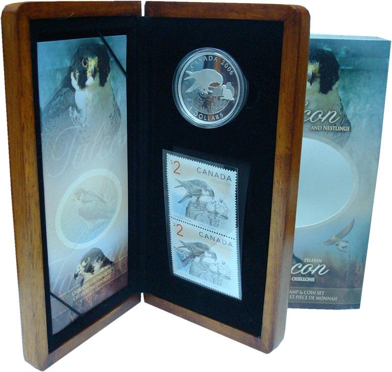 Изображение Подарочные монеты Северная Америка Канада 5 долларов 2006 Серебро Proof
