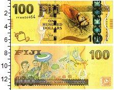 Изображение Банкноты Фиджи 100 долларов 2012  UNC