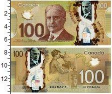 Изображение Банкноты Канада 100 долларов 2011 Пластик UNC