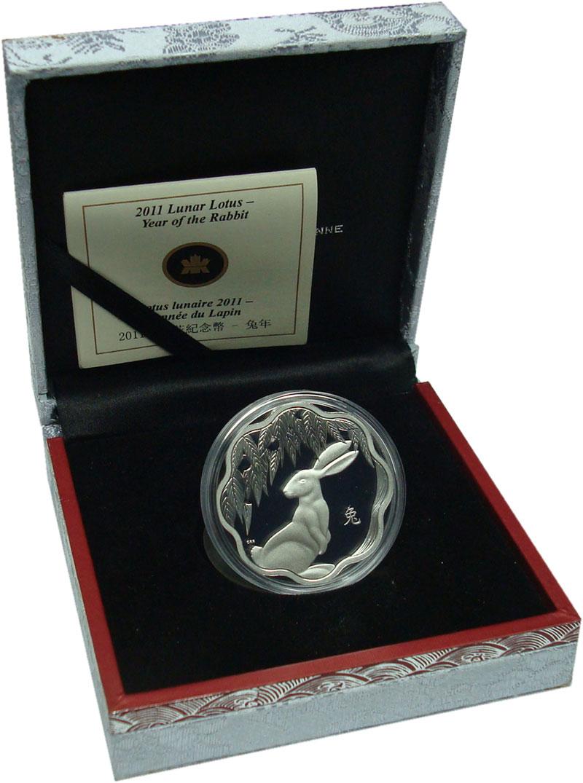 Изображение Подарочные монеты Северная Америка Канада 15 долларов 2011 Серебро Proof