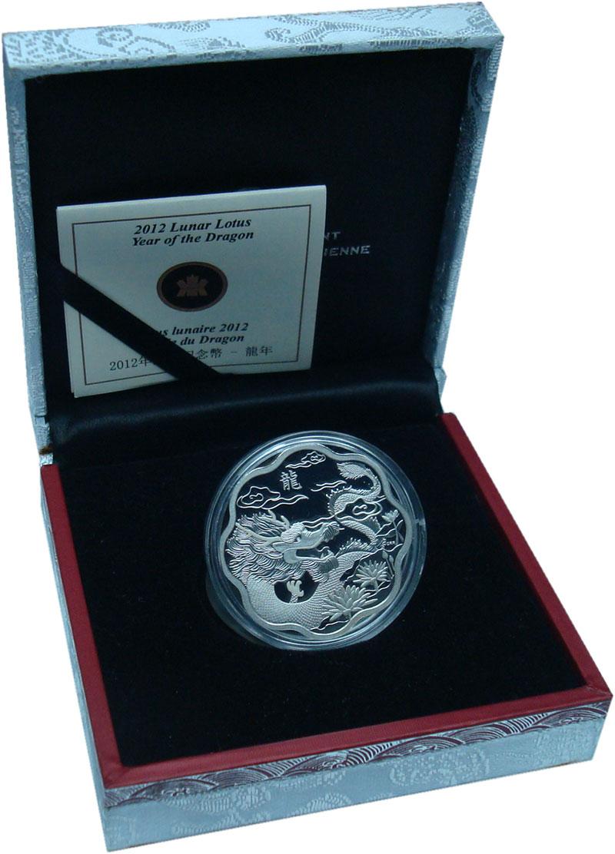 Изображение Подарочные монеты Северная Америка Канада 15 долларов 2012 Серебро Proof