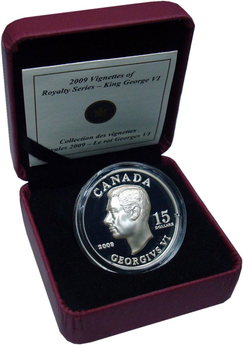 Изображение Подарочные монеты Северная Америка Канада 15 долларов 2009 Серебро Proof