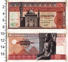 Изображение Банкноты Египет 10 фунтов 0  XF-