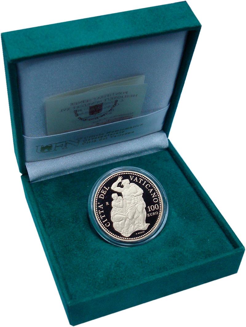 Изображение Подарочные монеты Европа Ватикан 100 евро 2010 Золото Proof