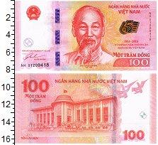 Изображение Банкноты Вьетнам 100 донг 2016  UNC