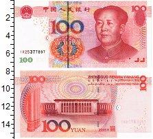Изображение Банкноты Китай 100 юаней 2005  UNC