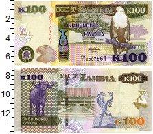 Изображение Банкноты Замбия 100 квач 2012  UNC