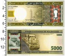 Изображение Банкноты Мавритания 5000 угий 2009  UNC