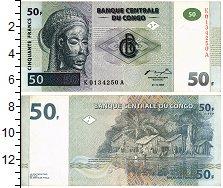 Изображение Банкноты Конго 50 франков 1997  XF