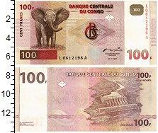Изображение Банкноты Конго 100 франков 1997  XF