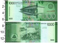 Изображение Банкноты Никарагуа 1000 кордоба 2017  UNC