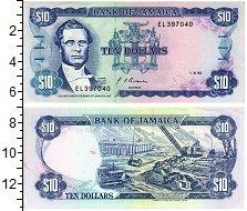 Изображение Банкноты Ямайка 10 долларов 1992  UNC
