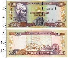 Изображение Банкноты Северная Америка Ямайка 500 долларов 2005  UNC