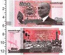 Изображение Банкноты Камбоджа 500 риель 2014  UNC