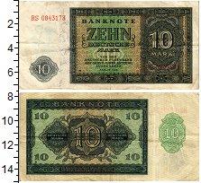 Изображение Банкноты ГДР 10 марок 1948  XF-
