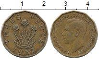 Изображение Дешевые монеты Великобритания 3 пенса 1937 Латунь XF-