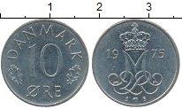 Изображение Дешевые монеты Дания 10 эре 1975 Медно-никель XF