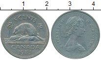 Изображение Дешевые монеты Канада 5 центов 1983  VF+