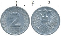 Изображение Дешевые монеты Австрия 2 гроша 1952 Алюминий XF-