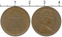 Изображение Дешевые монеты Великобритания 1 пенни 1981 Медь XF-