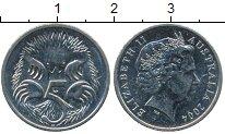 Изображение Дешевые монеты Австралия 5 центов 2004 Медно-никель XF-
