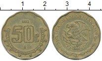 Изображение Дешевые монеты Мексика 50 песо 1993 Латунь XF-