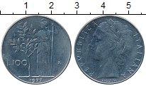 Изображение Дешевые монеты Италия 100 лир 1977 нержавеющая сталь XF