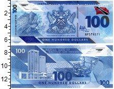 Изображение Банкноты Тринидад и Тобаго 100 долларов 2019 Пластик UNC