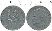 Изображение Дешевые монеты Польша 10 злотых 1976 Медно-никель VF+